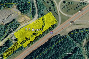 7.5 Acre Site located at I-81 and Hwy 11W at Exit 74B Now Sold!